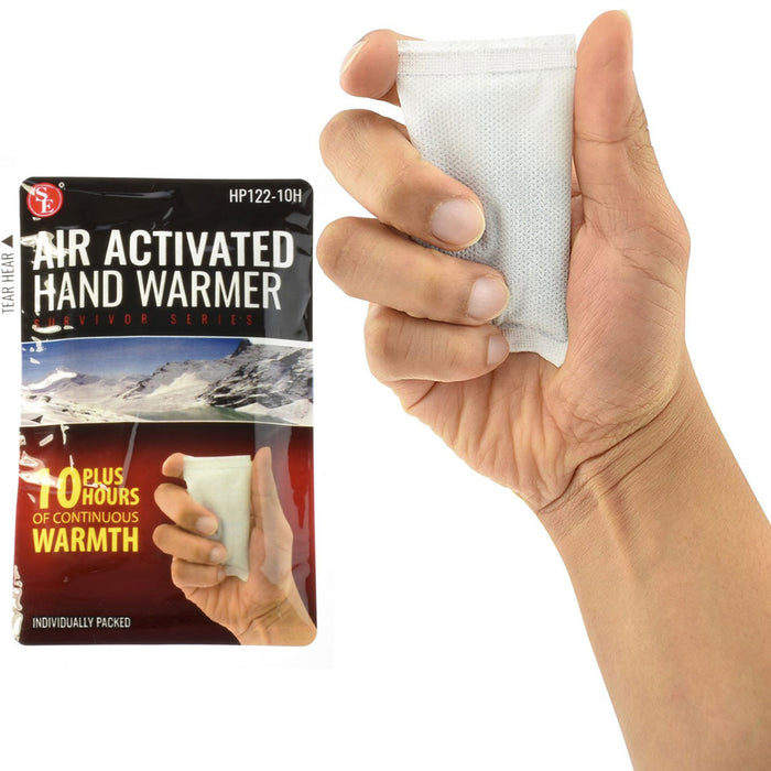 20 Pc Instant Heat Packs Hand Warmer Camping Outdoors Feet Body Athletes Winter