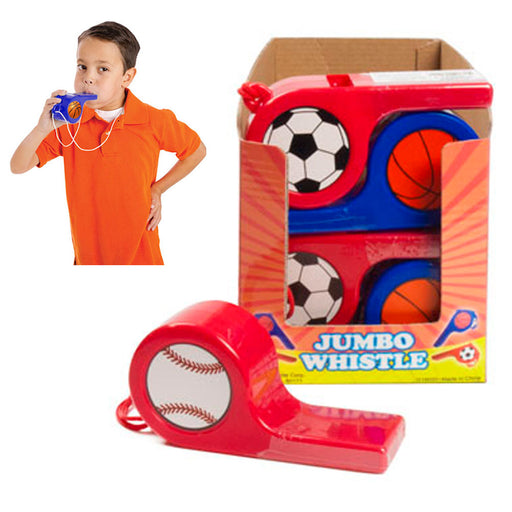 1 Pc Jumbo Giant Whistle Speech Therapy Sports Event Oral Motor Skills Party Toy