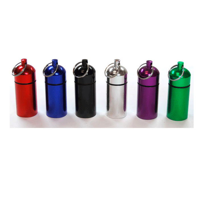 12 Colorful Bison Tubes Geocaching Containers Micro Cache Supplies Geocache 2.5""