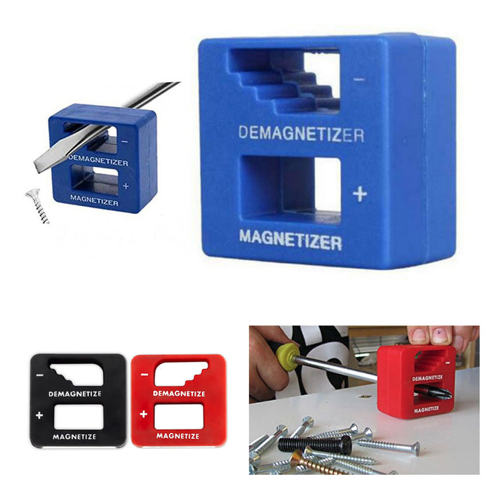 1 Home Magnetizer Demagnetizer Tool Screwdriver Magnetic Pick Up tool Tips Crew