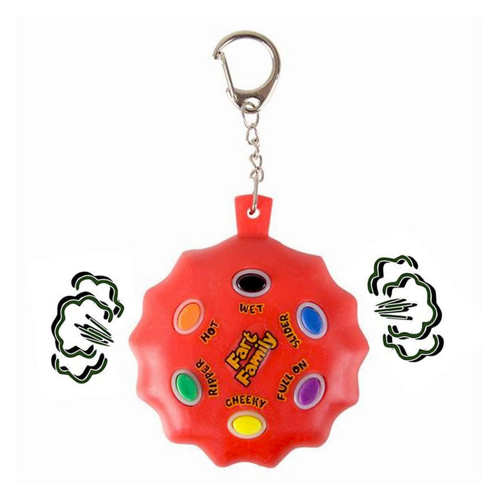 New Fart Keychain Farting Sound Pranks Gag Funny Machine Novelty Key Chain Gags