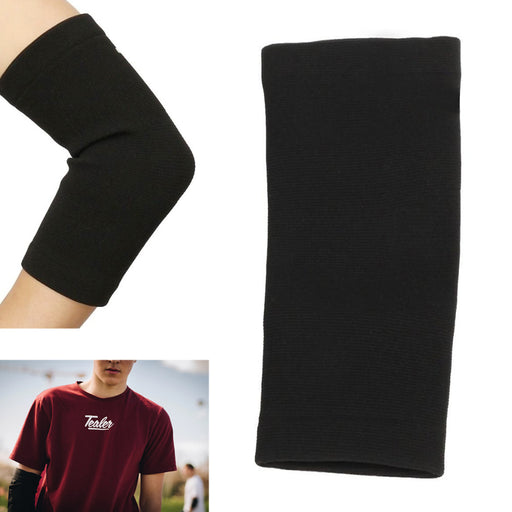 Elbow Brace Support Elastic Compression Sleeve Tennis Sport Pain Relief L/XL New