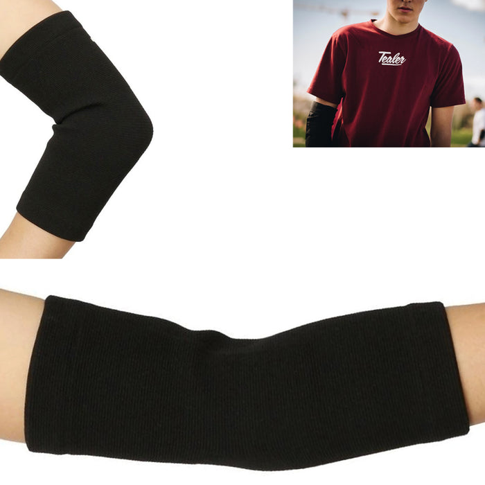 2PC Elbow Brace Compression Arm Sleeves Support Arthritis Joint Pain Relief L/XL