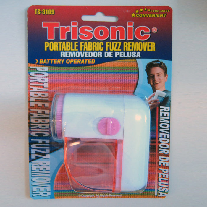 Portable Fabric Fuzz Remover Sweater Clothes Shaver Pill Lint Save Trimmer New !