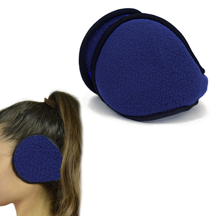 12 Earmuff Wamer Winter Comfortable Ear Muffs Ear Warmers Collapsible Wholesale