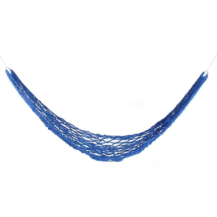 Portable 1 Person Hanging Hammock Rope Swing Fabric Sleeping Bed Garden Camping