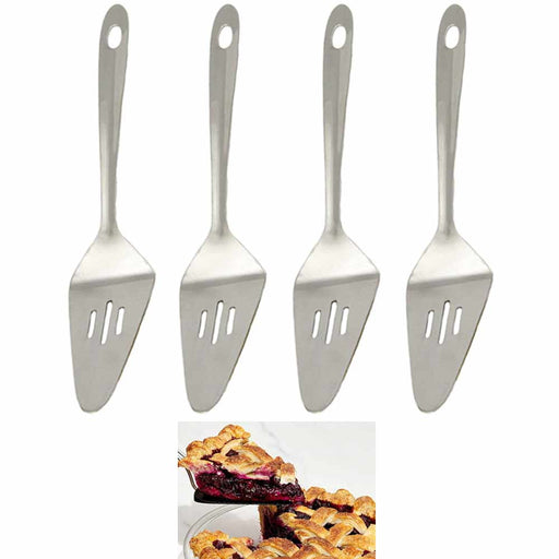 4 Stainless Steel Pie Serving Spatula Cooking Utensil Kitchen Tool Heavy Gauge