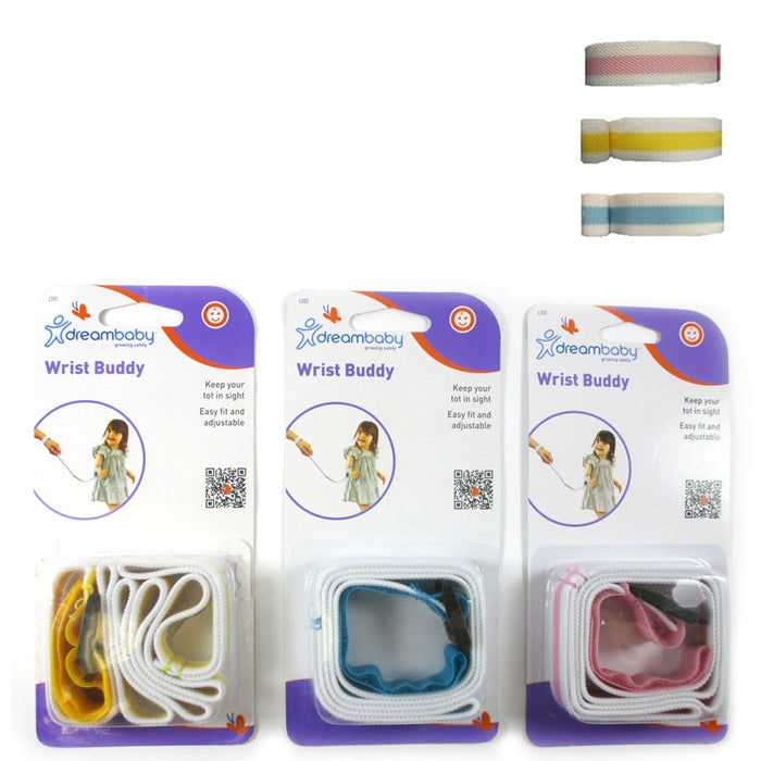 1Pc Dreambaby Baby Wrist Buddy Band Toddler Safety Kids Harness Strap Adjustable