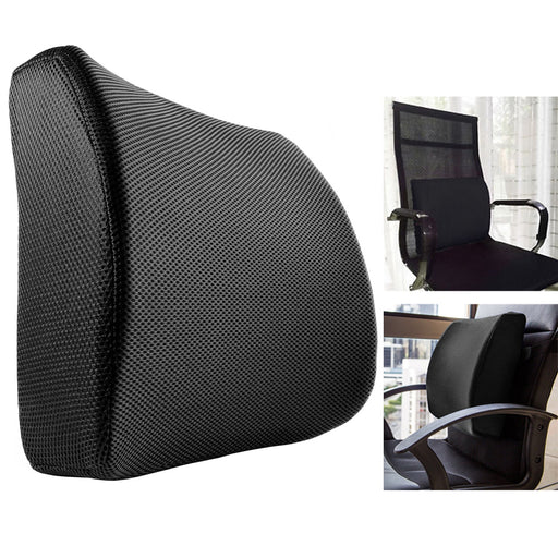 1 Pc Lower Back Lumbar Pillow Support Seat Cushion Pain Relief Car Office Chairs