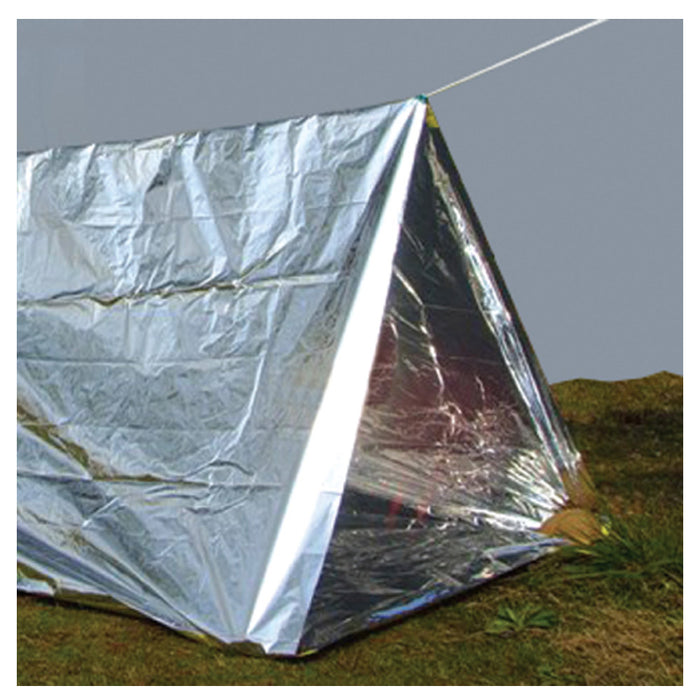 "Outdoor Emergency Tent 96""x24"" Sleeping Bag Survival Reflective Shelter Camping"