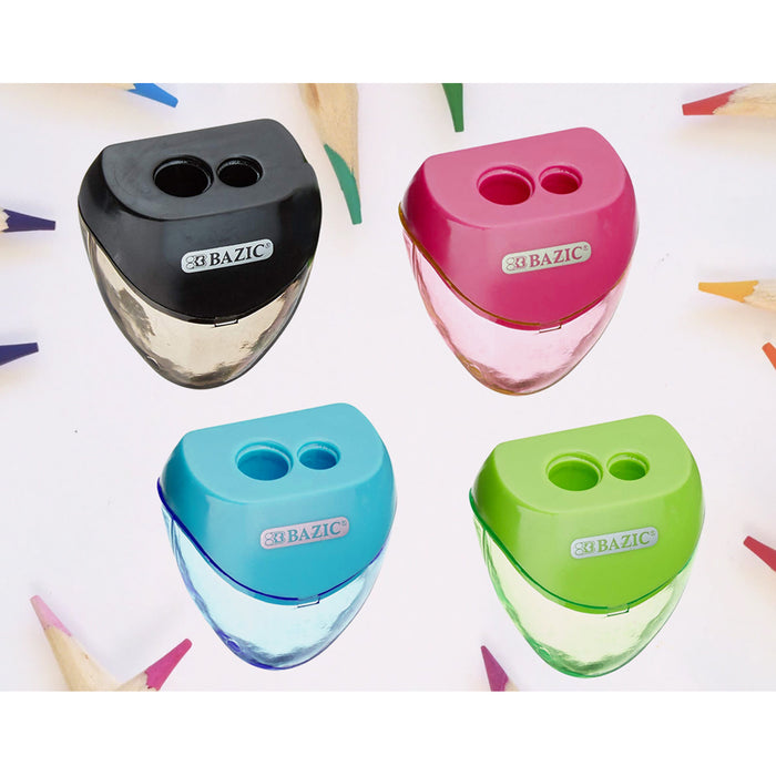 96 Pencil Sharpeners Double Hole Cutter School Art Kids Office Home Wholesale US