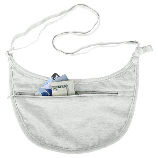 Travelon Women Travel Under Clothe Hidden Security Money Bra Pouch Pocket Wallet