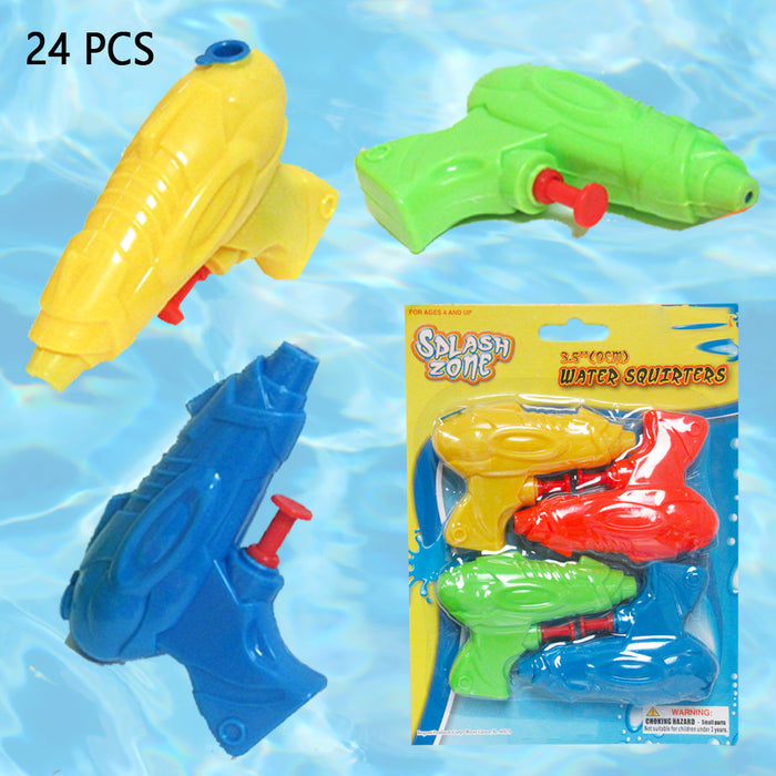 8PC Water Guns Squirt Blasters Kids Birthday Party Pool Games Splash Toy Bathtub