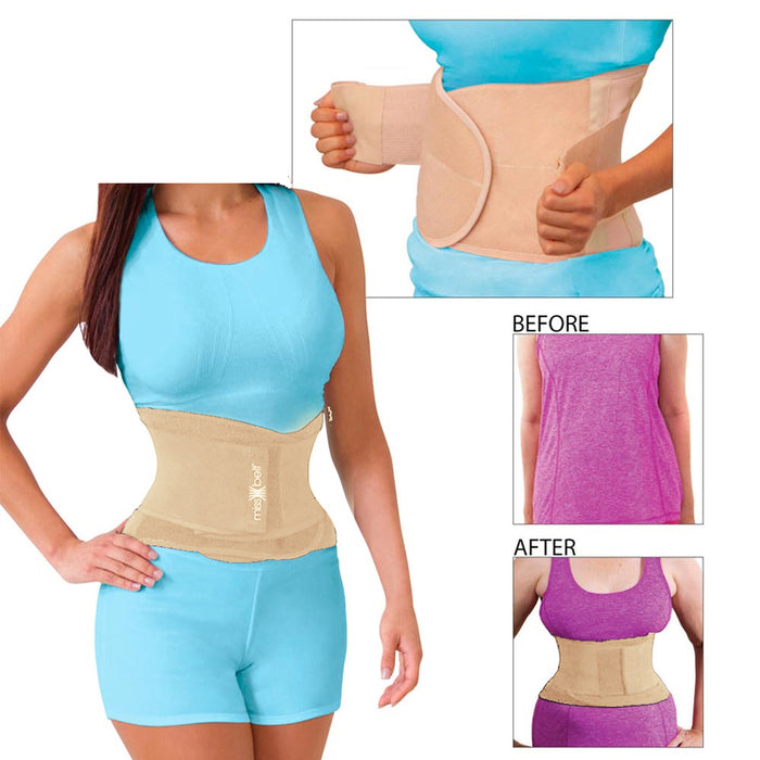 Miss Belt Waistline Body Shaper Trainer Corset Compression Garment Nude L/XL