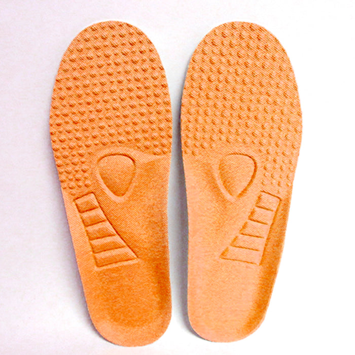 2 Pair Pressure Relief Insoles Pad Inner Supportive Cushioning Unisex Size 7.5-8