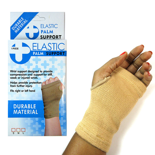 1 Elastic Palm Support Hand Thumb Brace Tendinitis Pain Relief Protection S M L