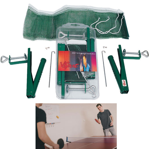 1 X Ping Pong Racket Ball Table Tennis Net Post Set Indoor Outdoor Sports Games