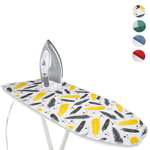 "1 Deluxe Ironing Board Cover 100% Cotton Heat Resistant Printed 2 Layers 19""X55"""