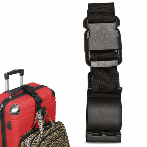 Travelon Add A Bag Strap Luggage Hook Belt Adjustable Travel Suitcase Attachment