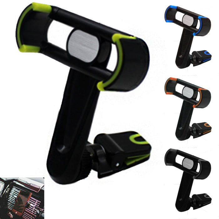 Car Cell Phone Mount 360?? Air Vent Holder Cradle Universal Stand iPhone Samsung