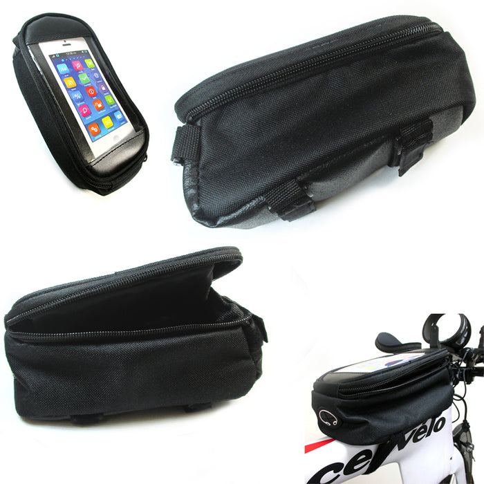 Bike Saddle Bag Bicycle Under Seat Storage Tail Pouch Cycling Bags Waterproof