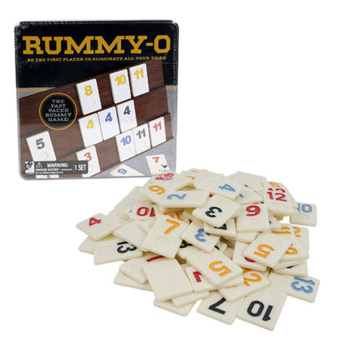 Deluxe Rummy-O Cardinal Classic Tile Number Game Rummikub Family Night Fun Gift