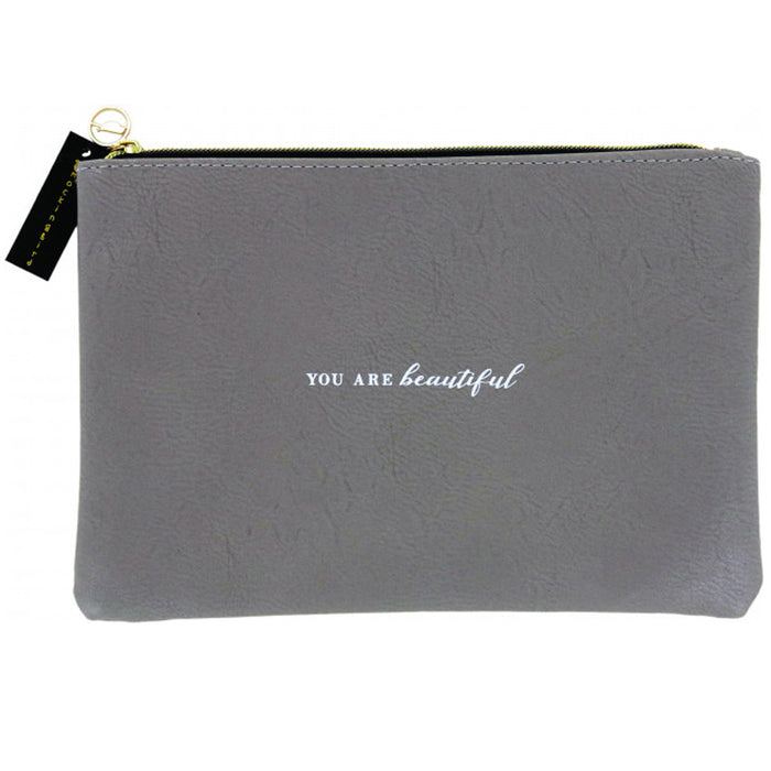 1 Beauty Cosmetic Pouch Makeup Bag Travel Case Zippered Toiletry Purse Organizer