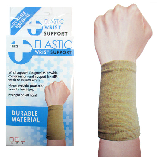 1 Elastic Wrist Support Arm Elbow Brace Tendinitis Pain Relief Protection S M L