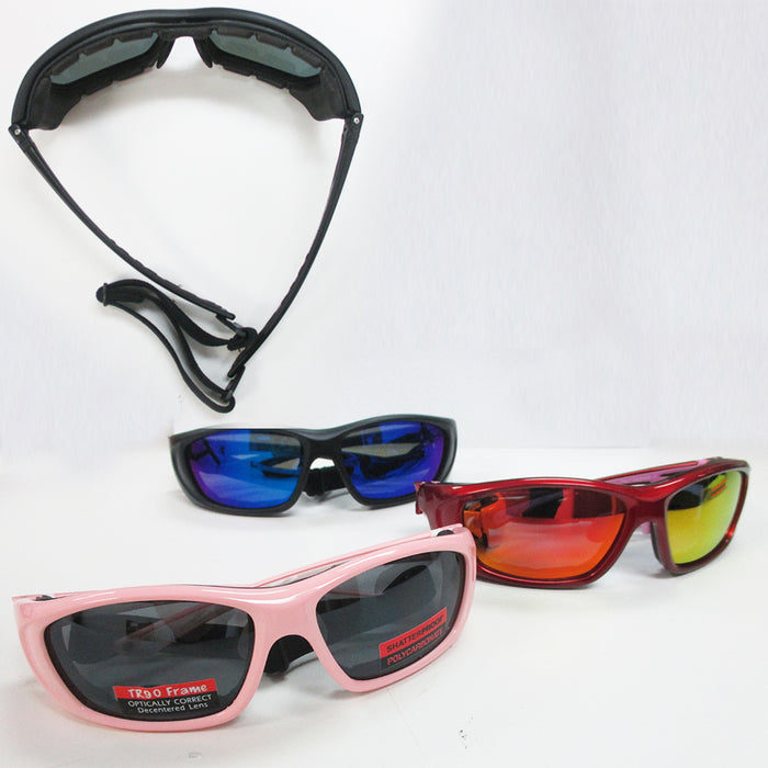 1 Pair Chopper Padded Wind Resistant Sport Sunglasses Motorcycle Rinding Glasses