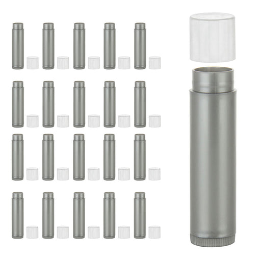 20 Pc Lip Balm Tubes Empty Lipstick Containers DIY Cosmetic Chapstick BPA Free