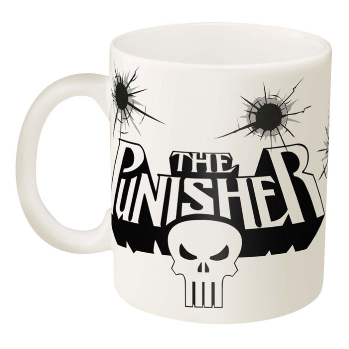 1 Marvel Comics Punisher Skull Coffee Mug 11.5oz Knights Cup Ceramic Zak Designs