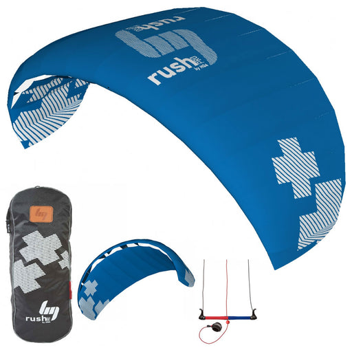 HQ Rush V Pro 300 Trainer Kite Kiteboarding Power Traction 3M 3-Line Snow Surf