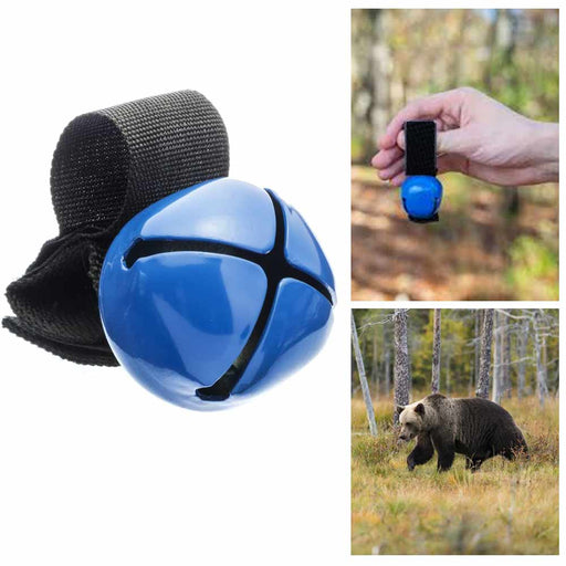1 Anti Bear Bell With Magnetic Silencer Hiking Safety Survival Attack Dog Bell