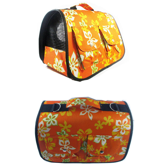 Portable Pet Carrier Dog Cat Tote Crate House Kennel Cage Travel Bag Purse Light