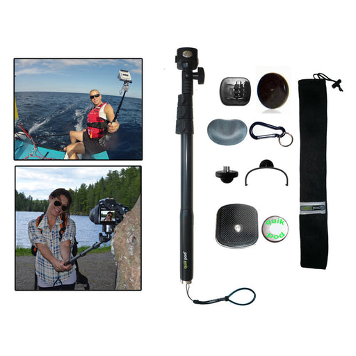 Extendable Handheld Selfie Stick Monopod Remote GoPro Digital Camera Cell Phones
