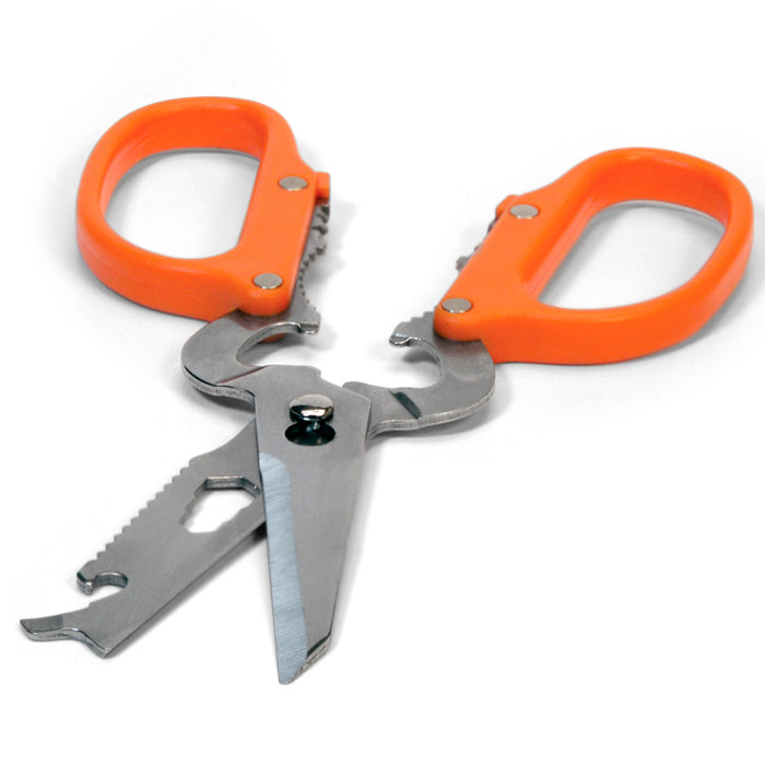 12 In 1 Camping Scissors Stainless Steel Multi Tool Shears Can Opener Coghlans
