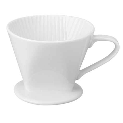 1 Pc Porcelain Filter Cone 2 Cup Pour Over Coffee Brew Loose Leaf Tea Brewer
