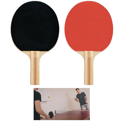 2 X Professional Paddle 5 Ply Ping Pong Table Tennis Indoor Outdoor Sports Games