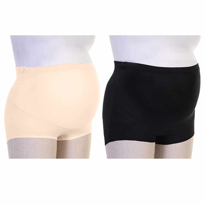 4 Pc Maternity Panties Over Belly Bump Underwear Pregnancy Tummy Support S/M