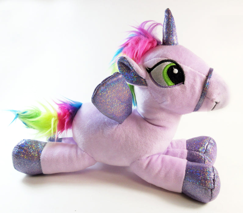 Cozy Unicorn Plush Pillow Stuffed Animal Bedtime Toy Cute Soft Kids Squeeze Gift