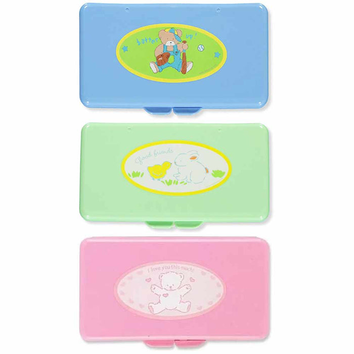 1 Baby Wet Wipes Case Kids Diaper Box Refillable Container Travel Bag Stroller