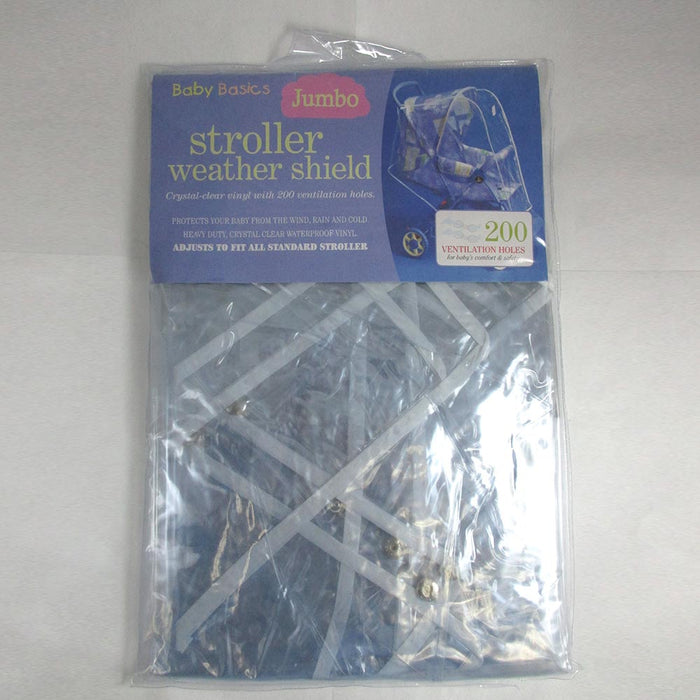 Weather Shield Stroller Rain Cover Canopy Standard Waterproof Universal Size New
