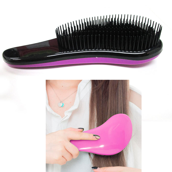 1 Pc Detangler Brush Shower Magic Hair Tamer Styling Tangle Comb Hair Detangling
