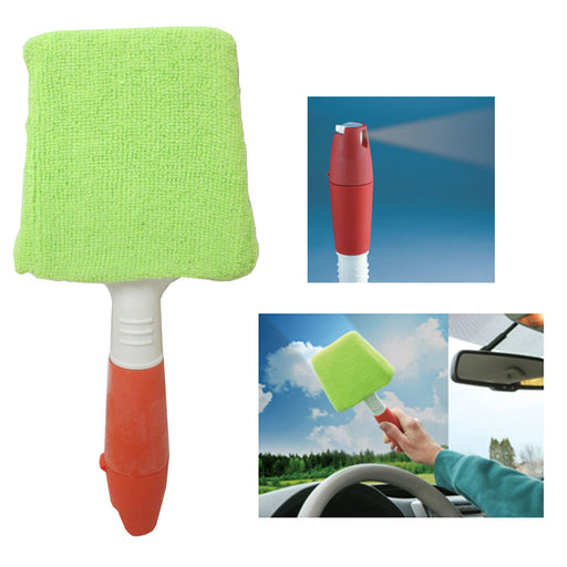 1 Microfiber Auto Window Cleaner Windshield Clean Car Wiper Glass Tool Brush Kit