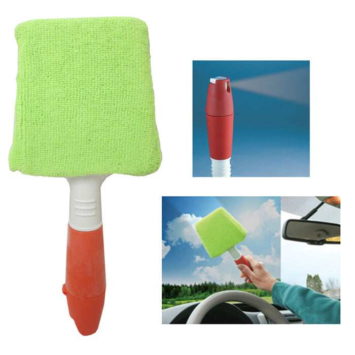1 Window Cleaner Microfiber Auto Windshield Clean Car Wiper Glass Tool Brush Kit