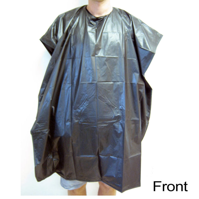 Hair Cutting Apron Cape Salon Gown Barber Cut Shampoo Styling Black Water Proof