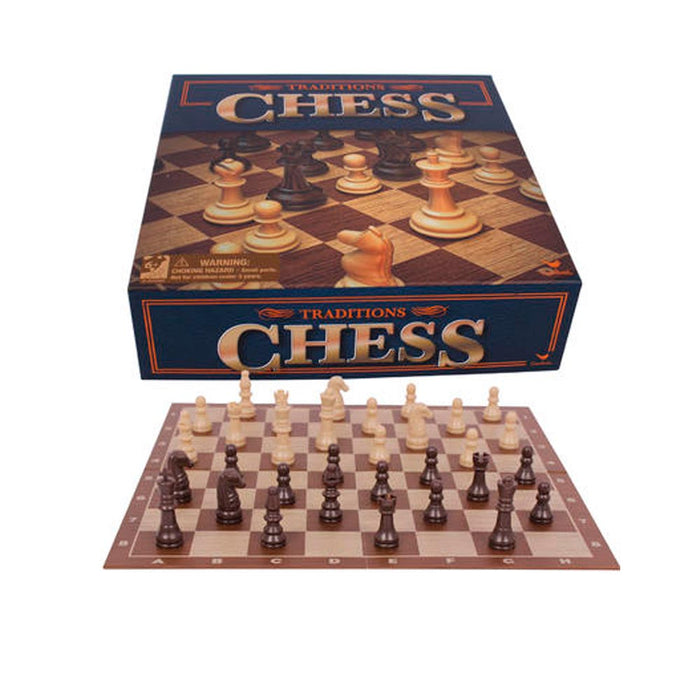 Chess Board Game Set Classic Foldable Board Traditional Gift Modern Family Night