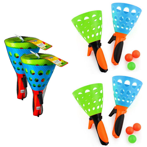 4 X Click Catch Ball Kid Games Party Favor Summer Children Fun Outdoor Indoor