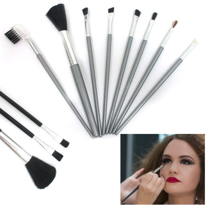 8 Pcs Makeup Brush Set Applicator Powder Foundation Eyeshadow Cosmetic Brushes