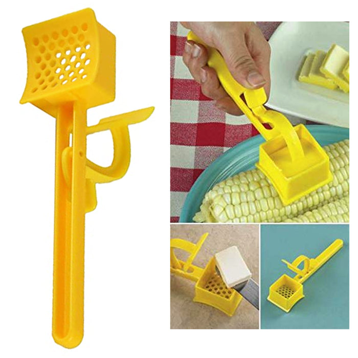 1 Pc Corn Cob Butterer Butter Spreader Curler Toast Spread Kitchen Gadget Tool